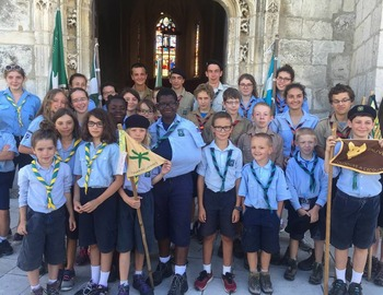 SCOUTS ET GUIDES SAINT-BENOÎT SECTION WISSOUS